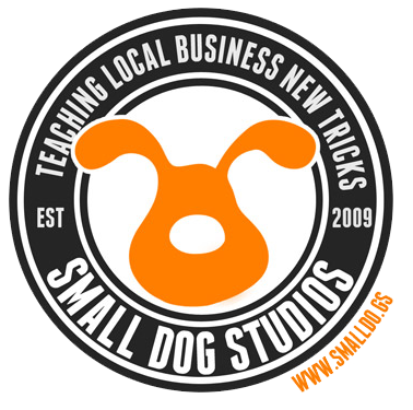 Small dog web development studio